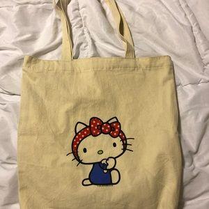 8de2edbc2 Hello Kitty Accessories - Hello Kitty ModCloth wallet, canvas bag, & mirror